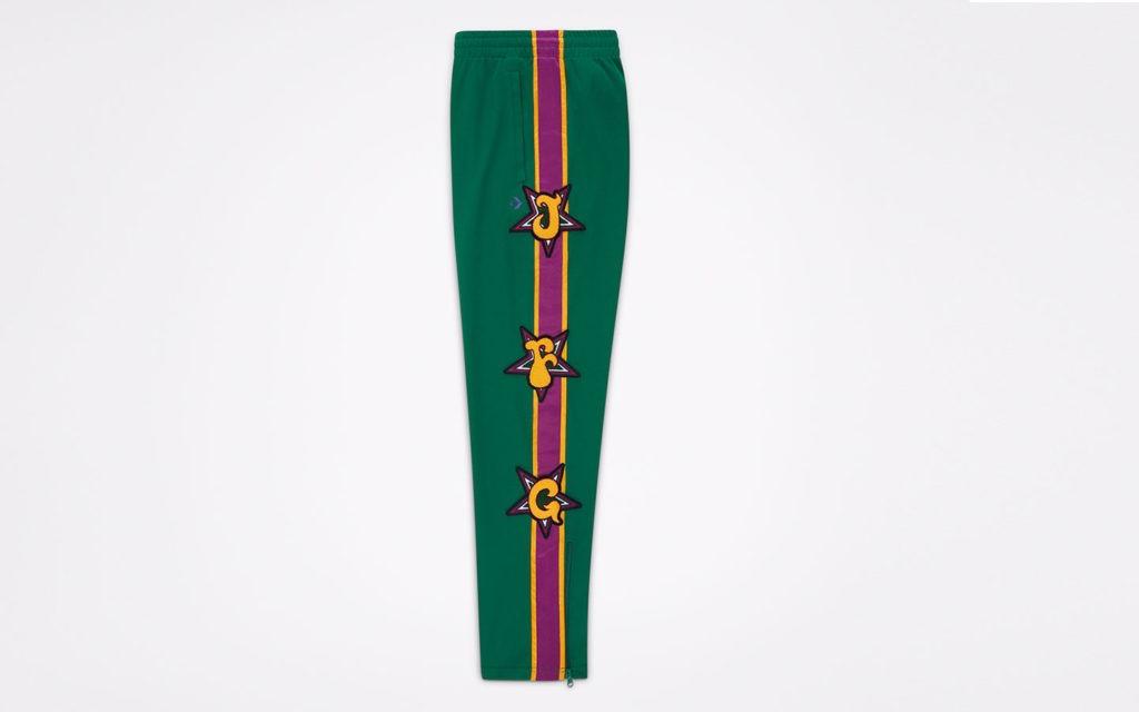 Pantalon Jfg Converse Hombre Verde 3